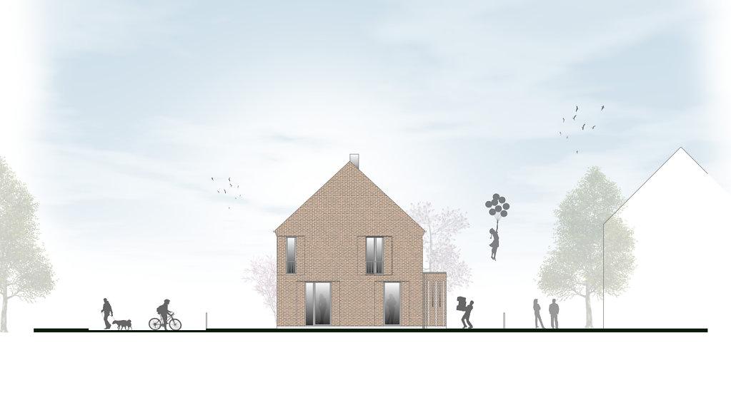 Ansicht Architektur ansicht ost krogmann többen