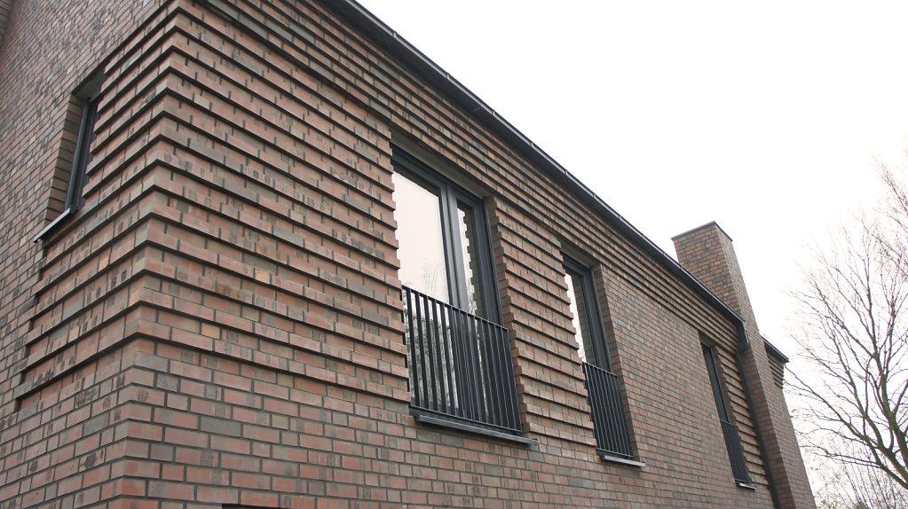 Detail-Fassade