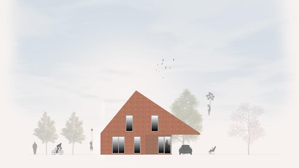 05.2018 - Entwurf Einfamilienhaus