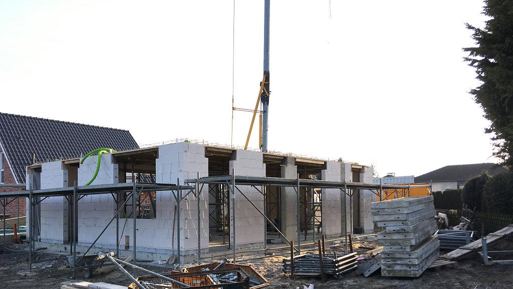 03.2018 - Baufortschritt Einfamilienhaus