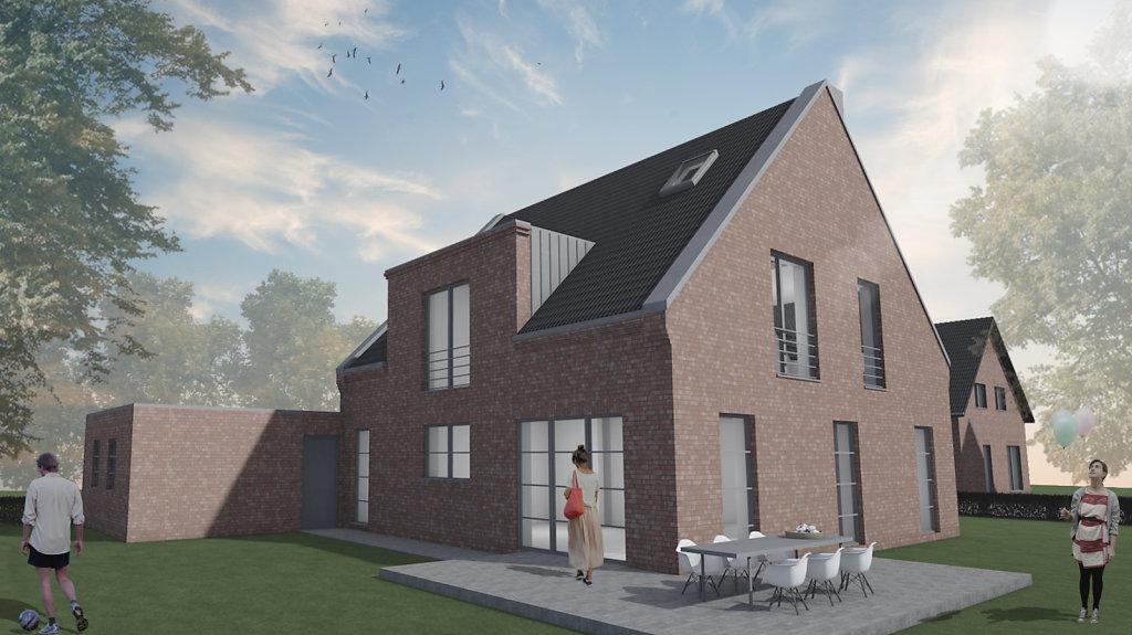 modernes Einfamilienhaus in Nordwalde
