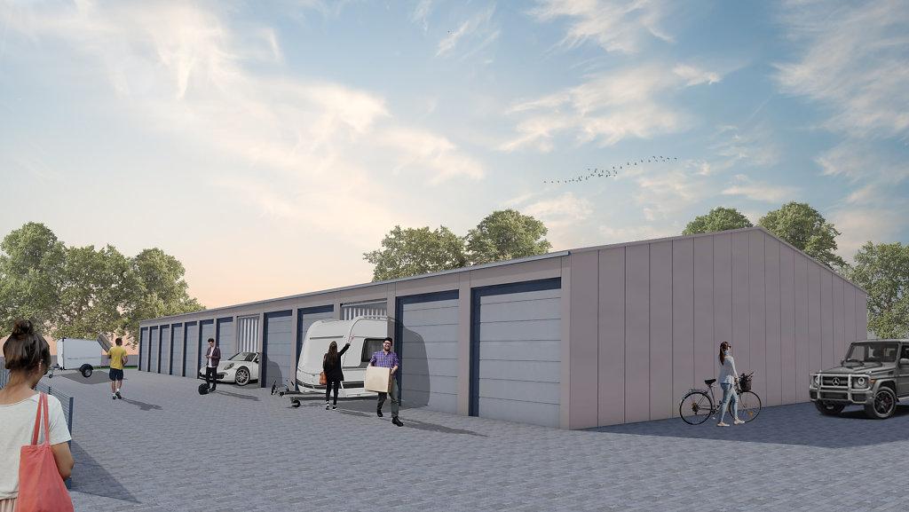 03.2019  Lager und Garagenpark in Nordwalde
