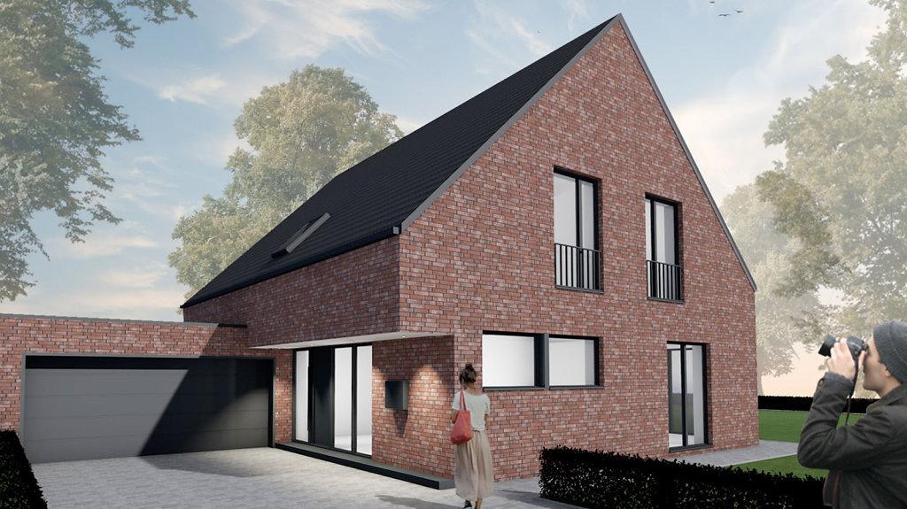 Haus B - Einfamilienhaus mit Klinkerfassade