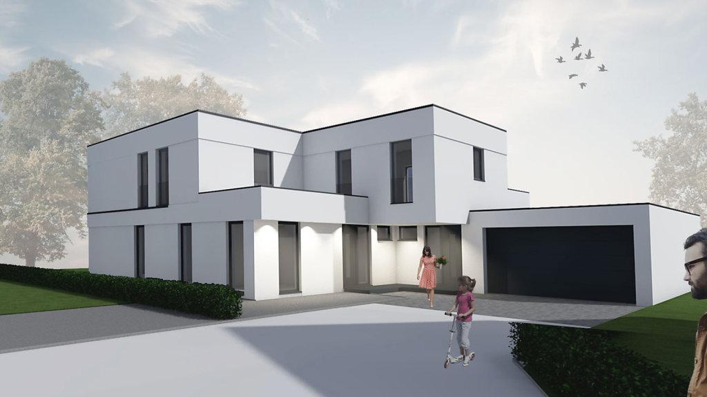 Haus 2-L - Modernes Einfamilienhaus mit Einliegerwohnung