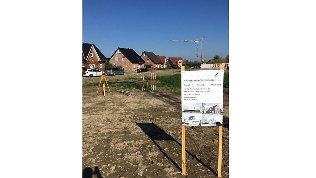 04.2019 Baustart am Sieverts Kamp