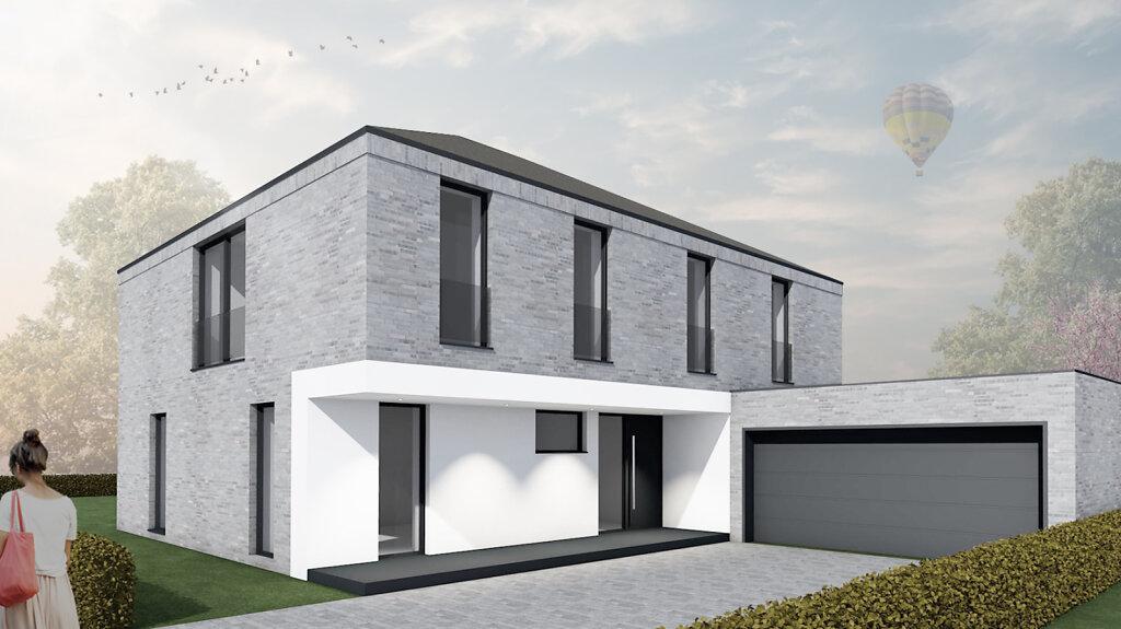 Moderne Stadtvilla - Haus O