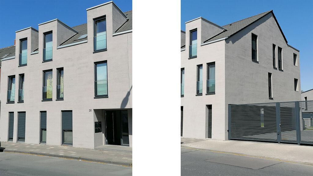 Mehrfamilienhaus mit Satteldach