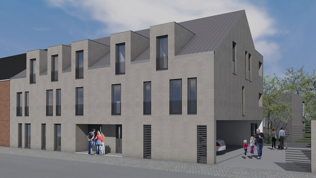 Planung und Entwurf des Mehrfamilienhauses