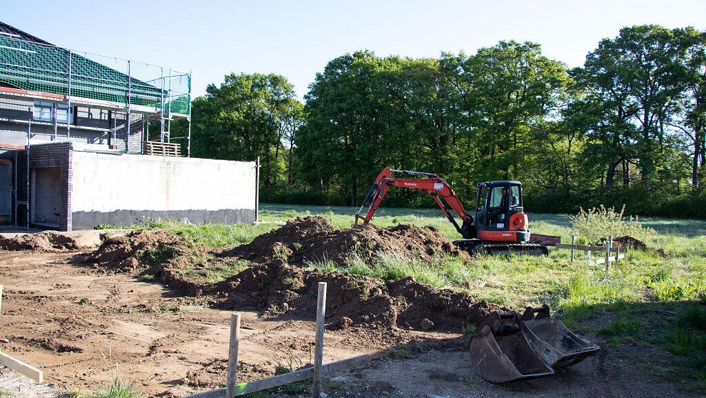 05.2020 Baustart Einfamilienhaus BB