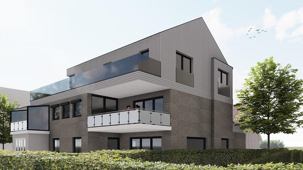 Haus S - Gartenpersepektive - Variante 2