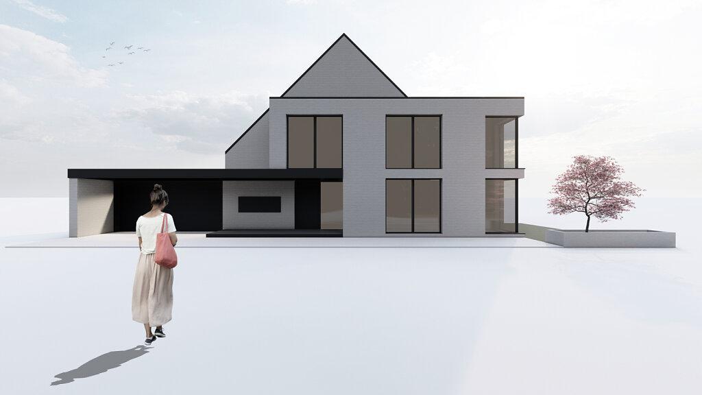 12.2020 Entwurf und Planung eines Einfamilienhauses