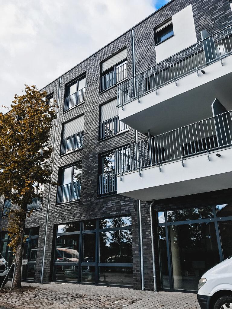Mehrfamilienhaus Fassaden-Ansicht