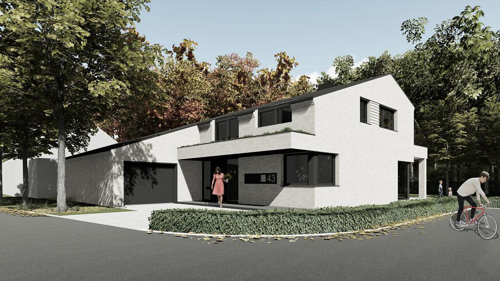 Haus R - Blick von der Straße