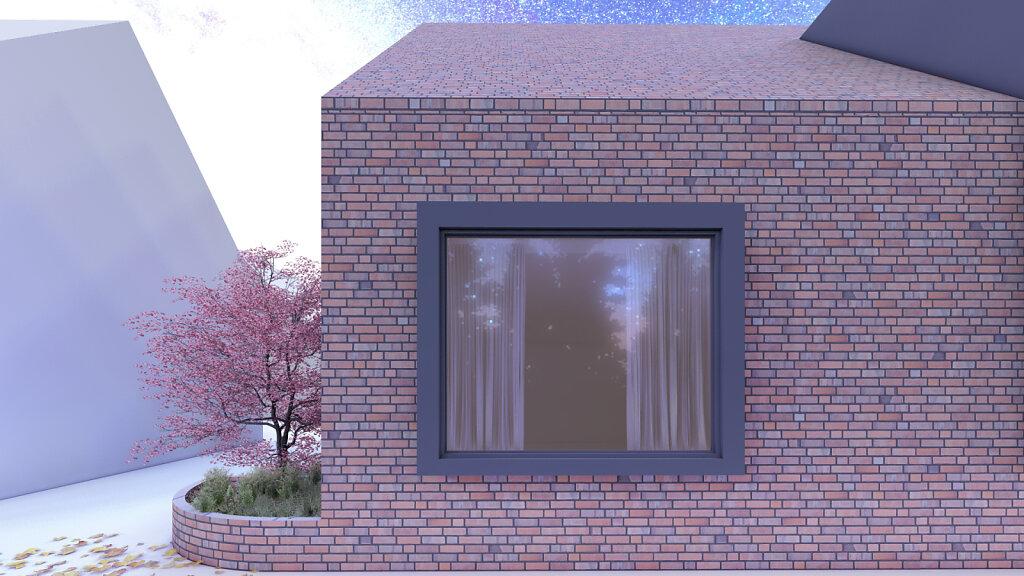 Einfamilienhaus D3 - Ansicht Fenster