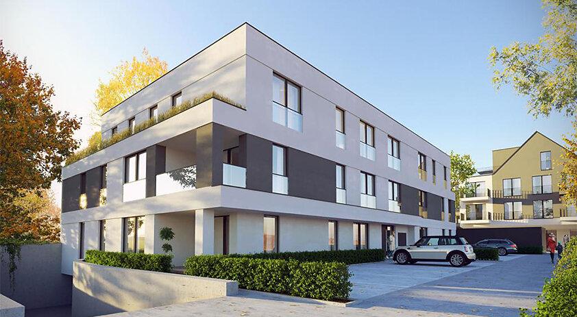 03.2021 Neubau - Mehrfamilienhaus in Nordwalde