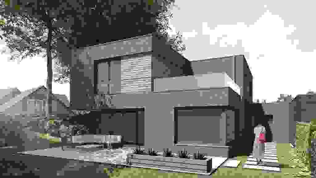 Haus 4l - Ansicht Garten