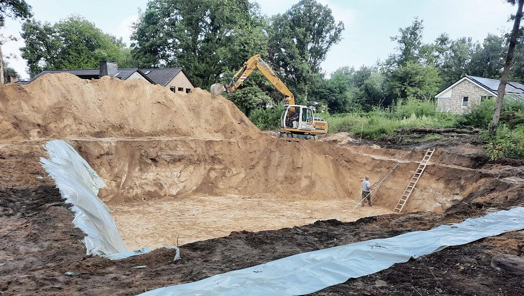 09.2021 - Baubeginn Haus R